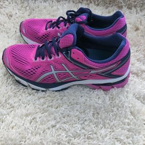 Asics GT 1000 DuoMax Hot Pink and Navy